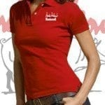 Andy Nelson Red Polo Shirt