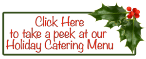 2017 Holiday Catering Menu